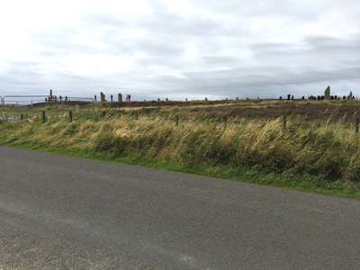 Ring of Brodgar on Orkney.