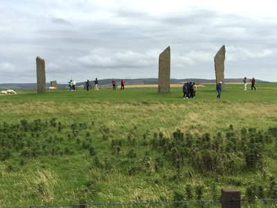 Standing Stones of Stenness on Orkney.